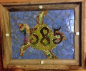 Turtle House Number - SOLD