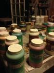 Glazes for Pottery in Studio